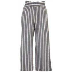 Zac and Rachel Womans Striped Printed Loose Pants