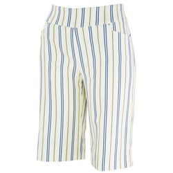 Counterparts Womens Striped Skimmer Shorts