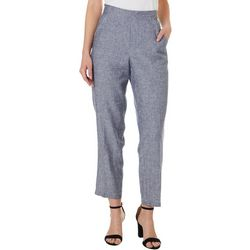 Cassmode Womens Solid Pull On Pants