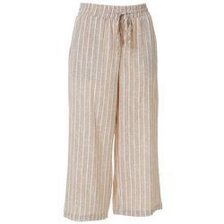 Cassmode Womens Vertical Stripe Drawstring Pants