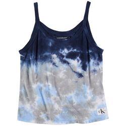 Calvin Klein Womens Tye Dye Tank Top
