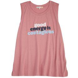C&C California Womens Good Energy Tank Top