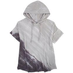 Cable & Gauge Womens Tie Dye Hoodie Tshirt