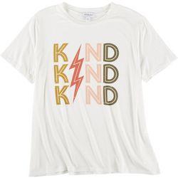 Gilli Womens Kind Kind Kind Graphic T-Shirt