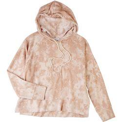 Gilli Womens Tie Dye Fleece Hoodie
