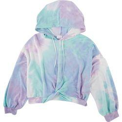 Le Lis Womens Tie Dye Sweatshirt