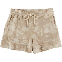 Gilli Womens Tie Dye Drawstring Shorts