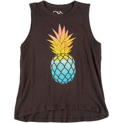 Chaser Womens Pineapple Muscle Tank