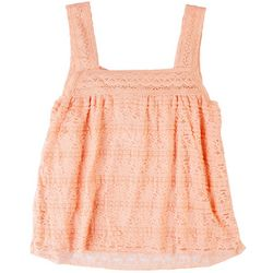 American Rag Womens All-Over Lace Tank