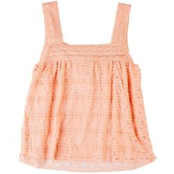 Womens All-Over Lace Tank