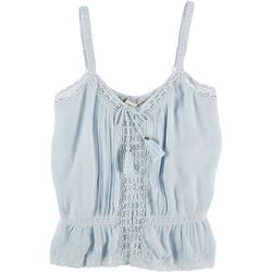 American Rag Womens Crochet Along The Lines Top