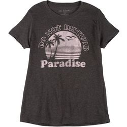Ana Cabana Womens Paradise Crew Neck T-Shirt