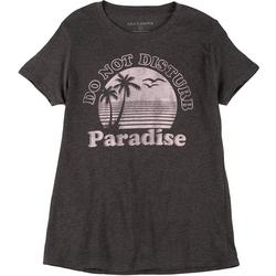 Womens Paradise Crew Neck T-Shirt