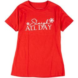Womens Sleigh All Day Graphic Tee