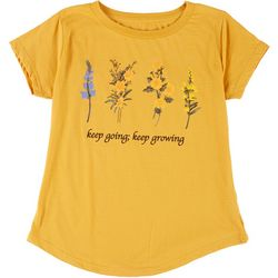 Ana Cabana Womens Go & Grow Crew Neck T-Shirt