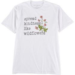 Ana Cabana Womens Spread Kindness Like Wildflowers T-Shirt