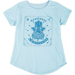 Ana Cabana Womens Happiness & Gratitude Graphic Tee