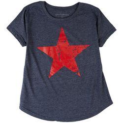Ana Cabana Womens Super Star Short Sleeve T-Shirt