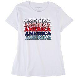 Ana Cabana Womens America T-Shirt