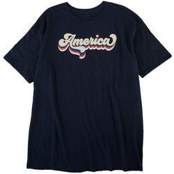 Ana Cabana Womens Classic America Short Sleeve T-Shirt