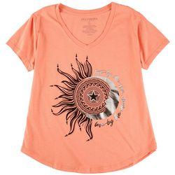 Ana Cabana Womens Live By The Sun T-Shirt
