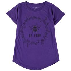 Womens Be Kind Round Neck T-Shirt