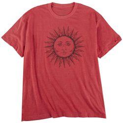 Ana Cabana Womens Sun Screen Print Short Sleeve T-Shirt
