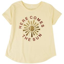 Ana Cabana Womens Here Comes The Sun T-Shirt