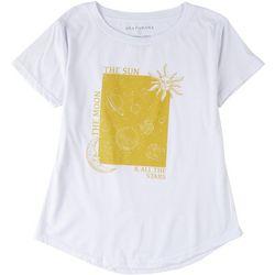 Ana Cabana Womens The Moon, The Sun, & All the Stars T-Shirt