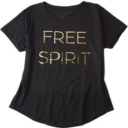 Ana Cabana Womens Free Spirit Foil T-Shirt