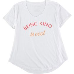 Ana Cabana Womens Being Kind Is Cool T-Shirt