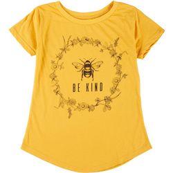 Ana Cabana Womens Be Kind Bee T-Shirt