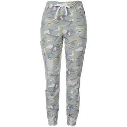 Royalty Womens Pull On Camo Distressed Denim Jogger