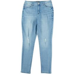Womens Hide Your Muffin Top High Rise Jeans