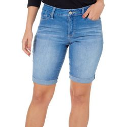 Royalty by YMI Womens Hide Your Muffin Top Shorts