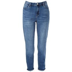 Nicole Miller Womens Solid Jeans