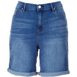 Nicole Miller SoHo High Rise Roll Cuff Shorts