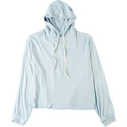 Fore Womens Solid Drawstring Hoodie