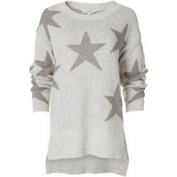 Dave & Dani Womens Star Sweater