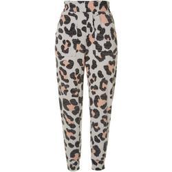 Womens Leopard Joggers