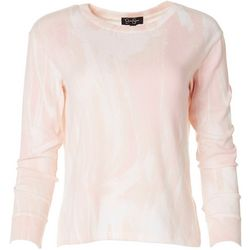 Jessica Simpson Womens Marbled Pullover Sweater