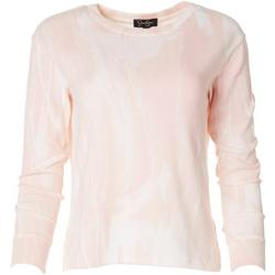 Womens Marbled Pullover Sweater