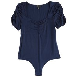 Jessica Simpson Womens Solid Body Suit