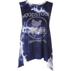 Wanderlux Womens Woodstock Tie Dye Sleeveless Top