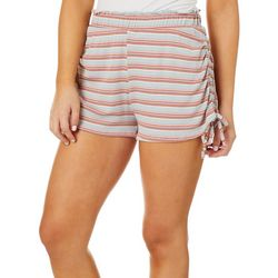 Wanderlux Womens Stripes Pull On Shorts