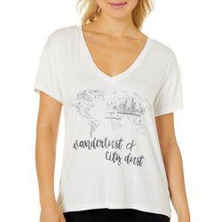 Wanderlux Womens Wanderlust & City Dust T-Shirt