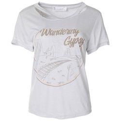 Wanderlux Womens Wandering Gypsy Short Sleeve Top