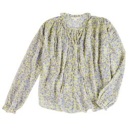 Cooper And Ella Womens Floral Long Sleeve Shirt