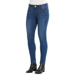 Democracy Womens Medium Wash Denim Jeggings