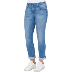 Democracy Womens Ab-solution Ankle Cuff Girlfriend Jeans